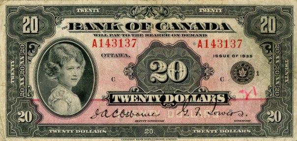 Canada, $20. Age 8