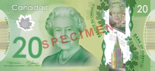 Canada, $20. Age 85