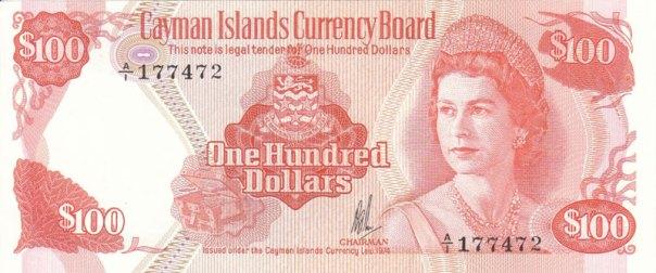 Cayman Islands, $100, Age 34