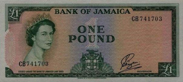 Jamaica, 1 pound, Age 26