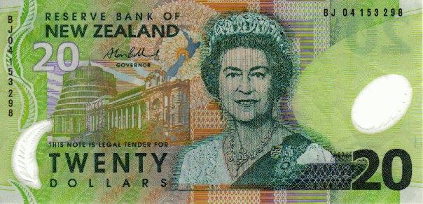 New Zealand, $20. Age 60