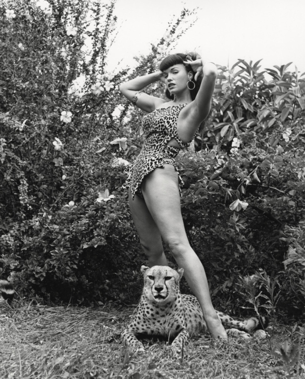 Bunny's most famous model - Bettie Page
