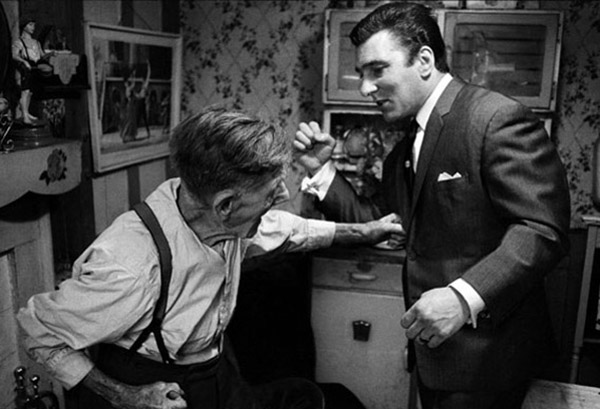 Ronnie Kray and his uncle