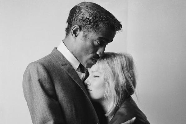 Sammy Davis Jr. and wife May Britt
