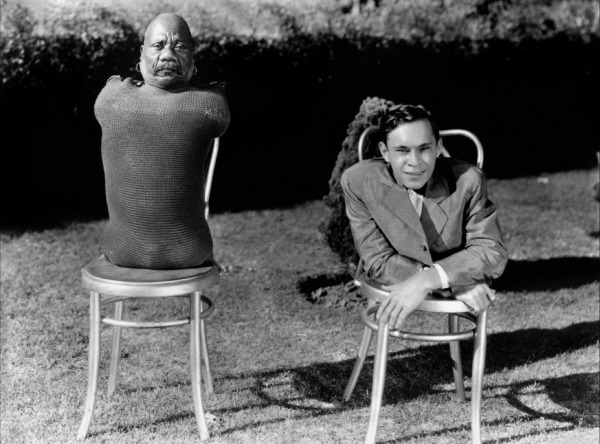 Prince Randian - The Living Torso & Johnny Eck - The Half Boy
