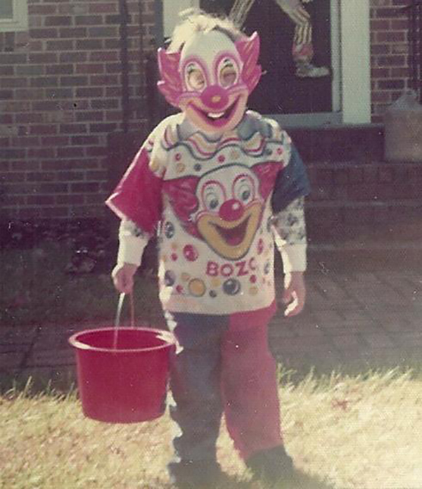 Creepy Bozo the Clown