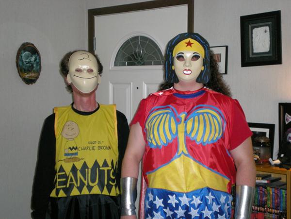 Charlie Brown and Wonder Woman