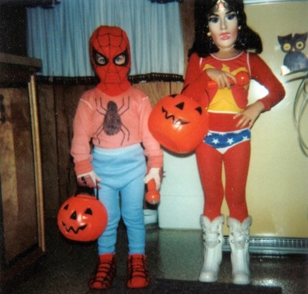 Superheroes - Spiderman & Wonder Woman