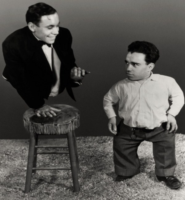 Johnny Eck & Angelo Rossitto - as Angeleno
