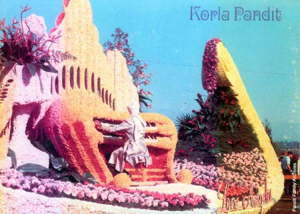 Korla plays the Rose Bowl