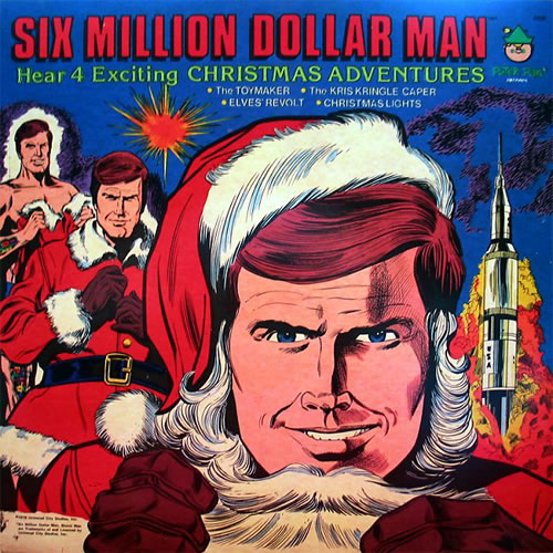 Six Million Dollar Man Christmas