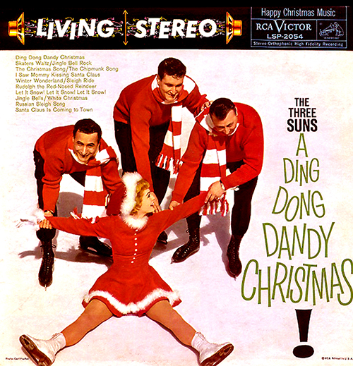 The Three Suns - A Din Dong Dandy Christmas