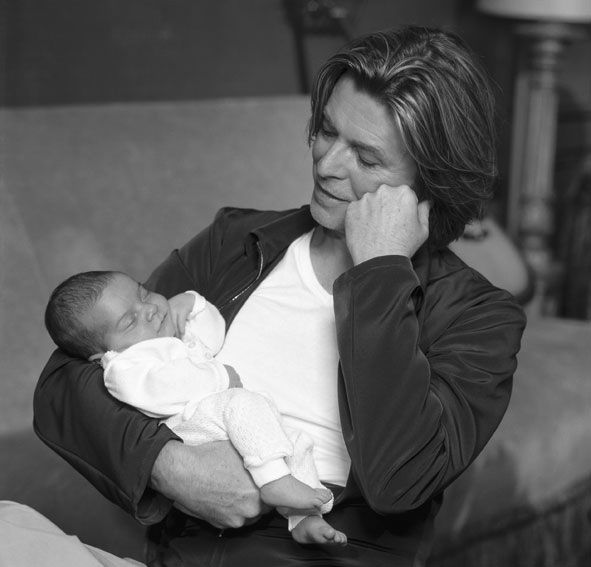 With daughter Alexandria -2000