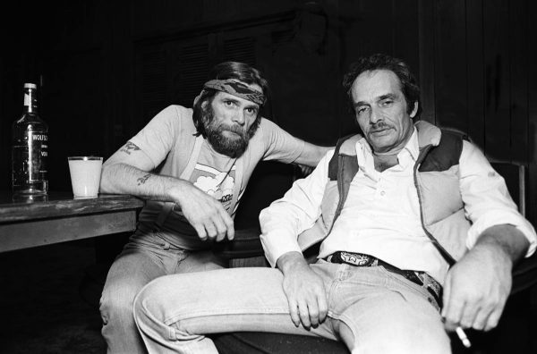With Johnny Paycheck - a little worse for wear.