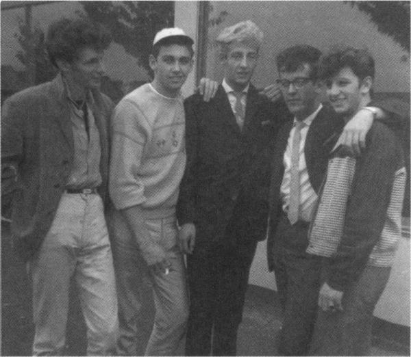 Rory Storm & the Hurricanes - Ringo far right