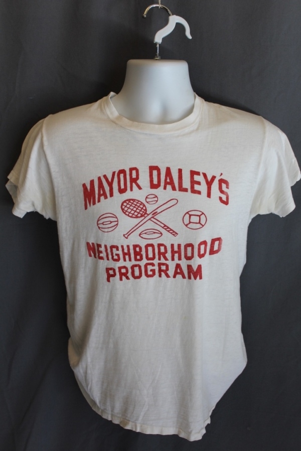 1970's Mayor Dailey Neighborhood Program T-Shirt, Chicago