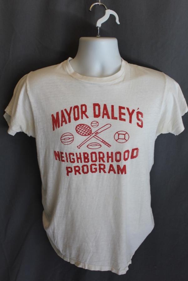 1970's Mayor Dailey Neighborhood Program T-Shirt, Chicago