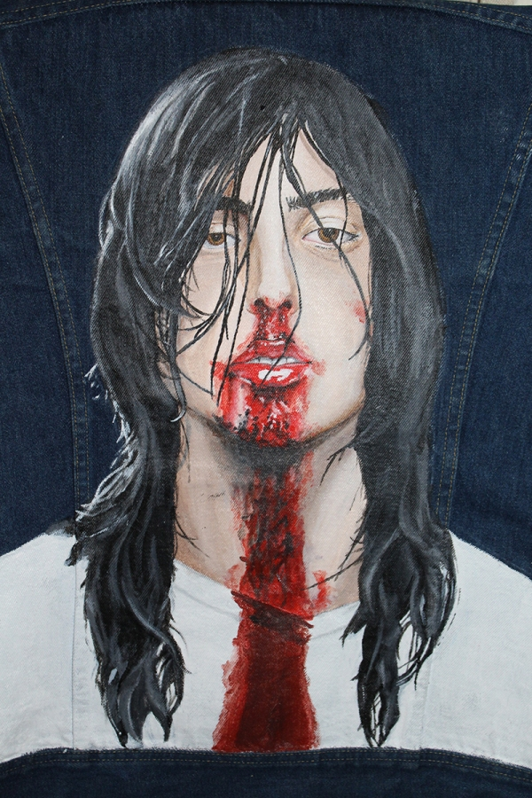 Andrew W.K. - Lee trucker jacket - Commission - SOLD