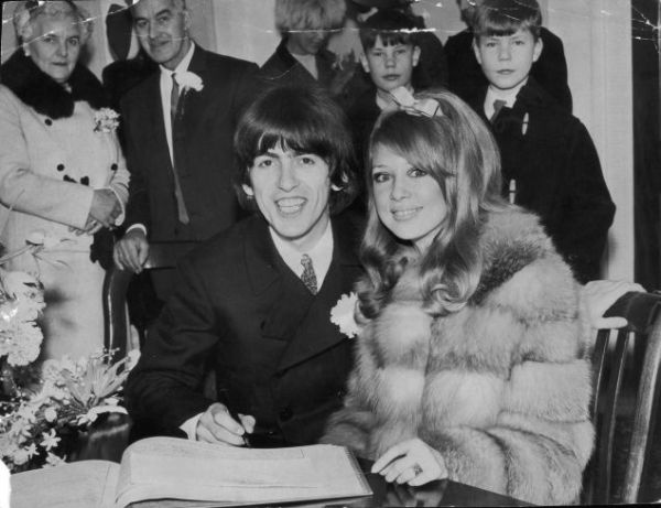 George Harrison & Patti Boyd
