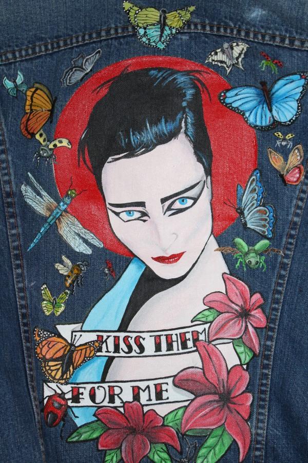 Siouxie Sioux - Detail