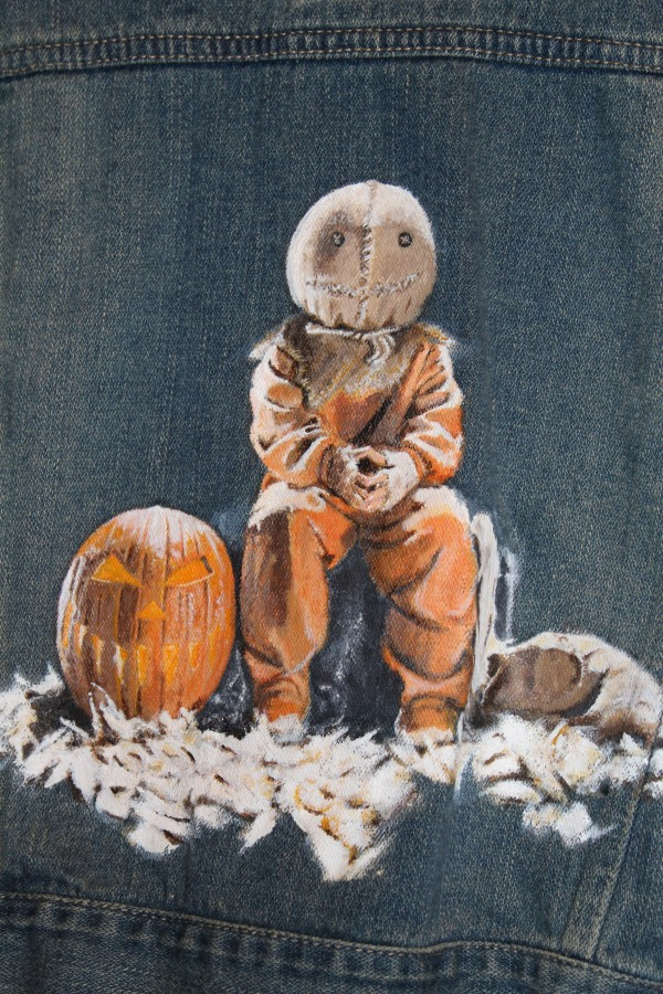 Trick R Treat - Sam on kids Levi's jacket - NSF