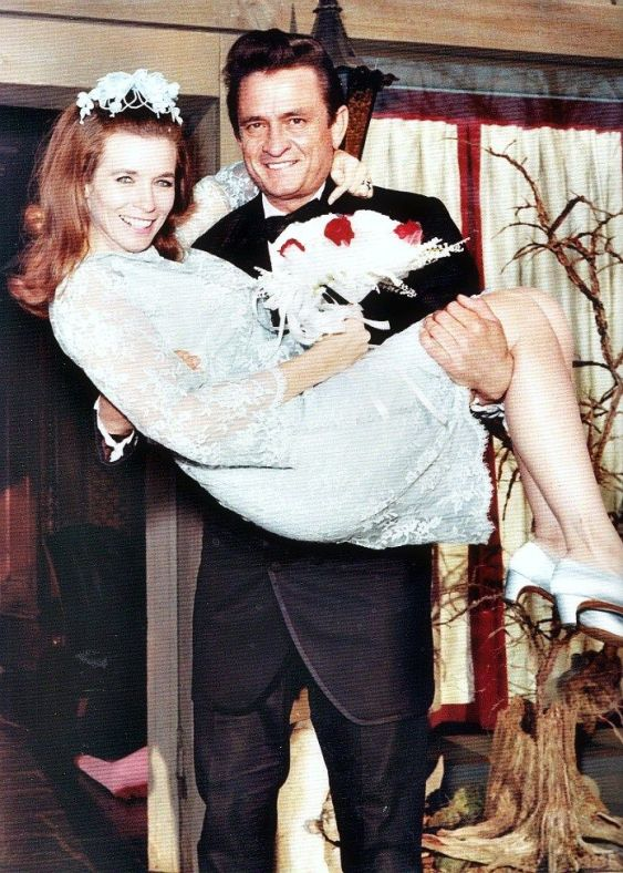 Johnny and June Carter Cash