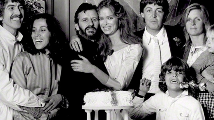Ringo & Barbara Bach & some other people
