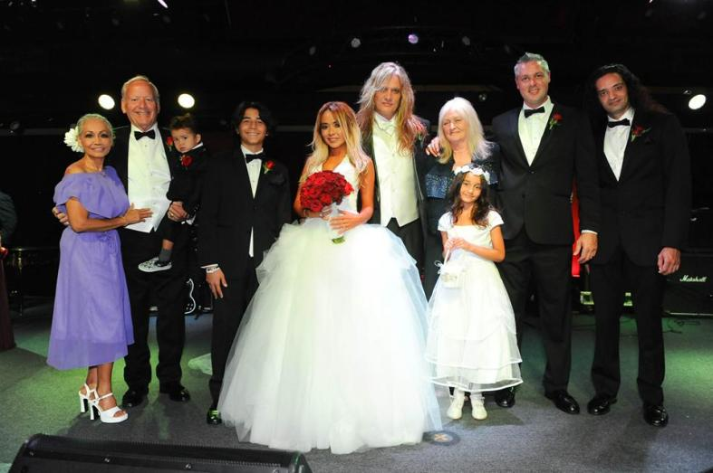 Sebastian Bach & Suzzane Le. *For $300 you could attend this wedding at a casino