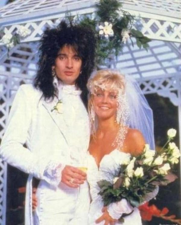 Tommy Lee & Heather Locklear
