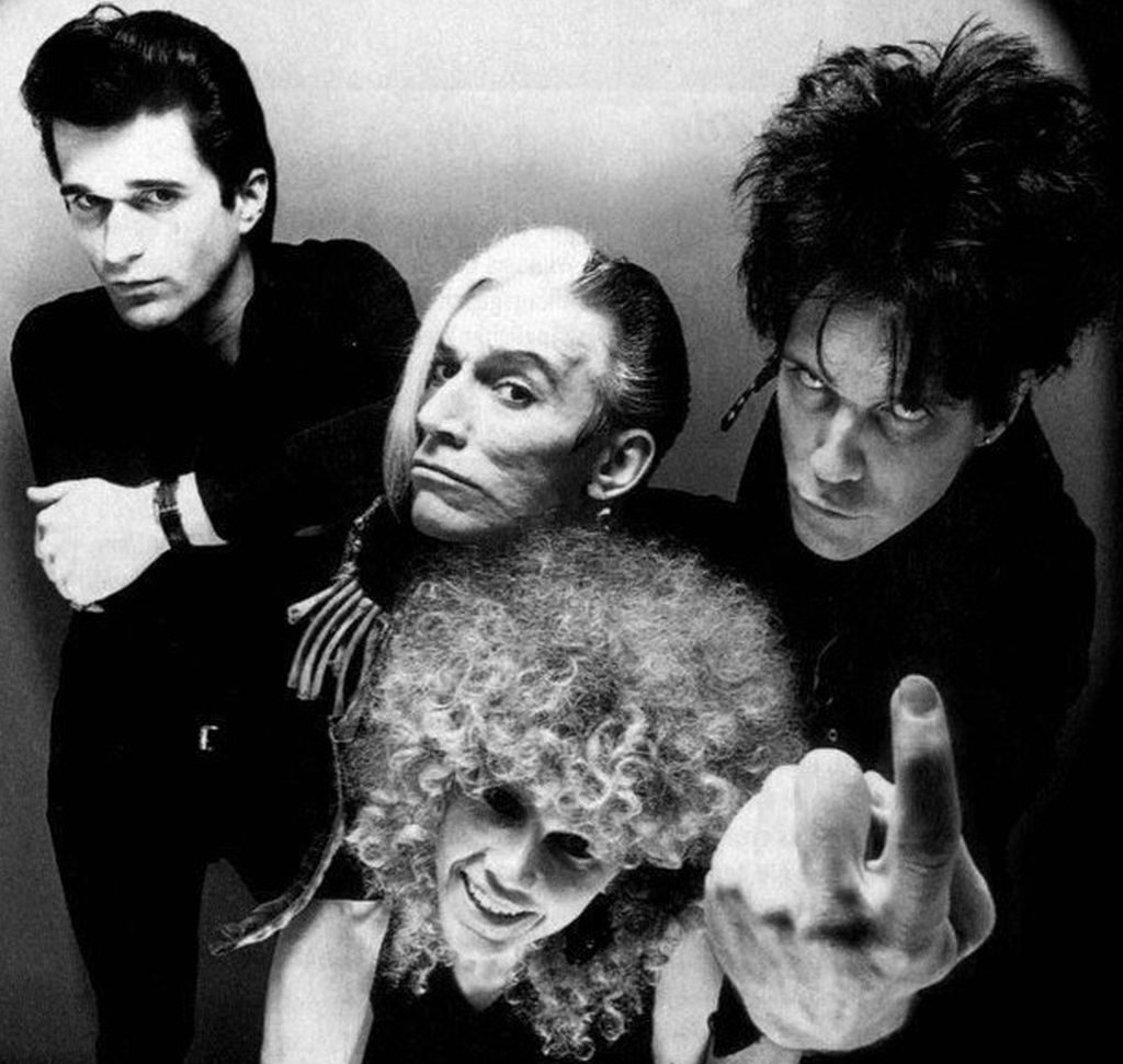 From Left: Nick Knox, Bryan, Poison Ivy Rorsarch, Lux Interior